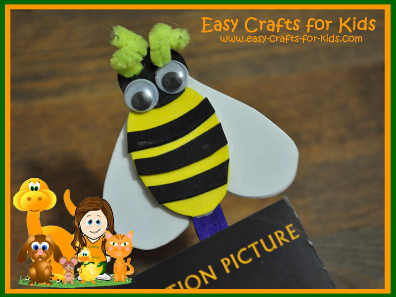 Easy Fuzzy Bee Crafts