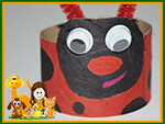 Lady Bug Craft Preview