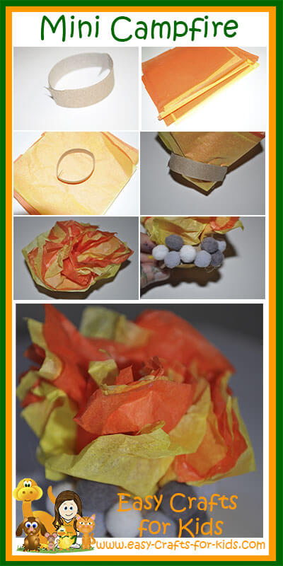 Instructions For Mini Campfire Craft