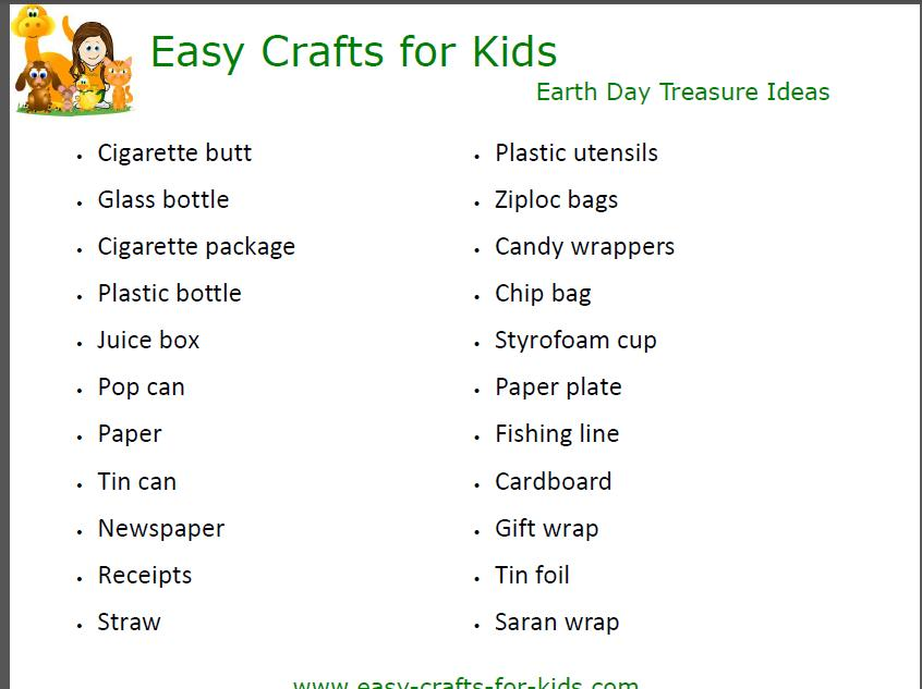 Earth Day Activities For Kids Fun Learning Activity For Earth Day