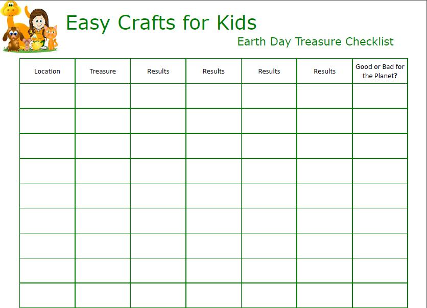 click to print - Kids Activities Print