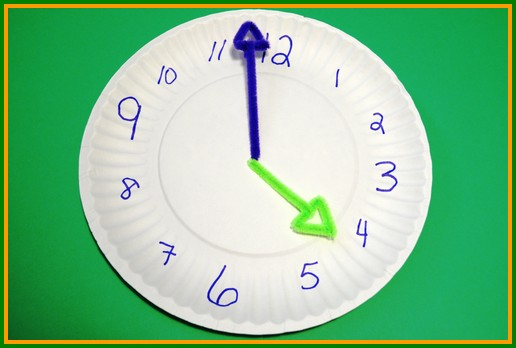 Now you can ask the children  What time is it Mr. Wolf?  and have them learn how to tell time while having fun all at once!  sc 1 st  Easy Crafts for Kids & Easy Crafts for Toddlers - Learn to tell time!