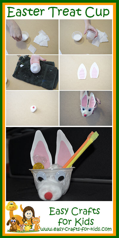 Instructions to Easter Treat Cup
