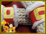 Santa Napkin Rings Preview