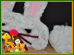 easter bunny mask costume