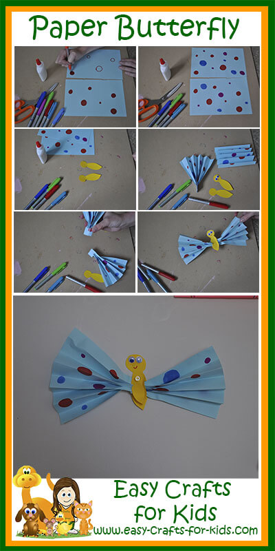 Instructions for our easy paper crafts