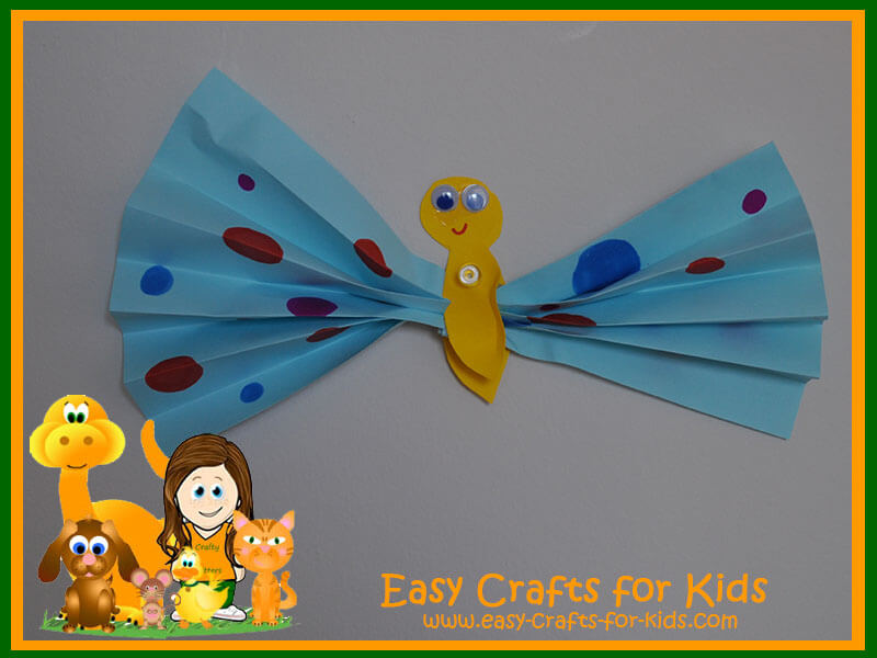 Easy Paper Crafts - Paper Butterflies