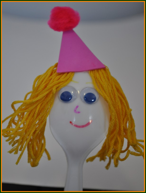 wooden spoon princess craft tale crafts for a puppet show needs a princess 5784