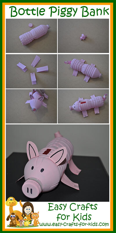 Step by Step Instructions for Farm Animal Craft