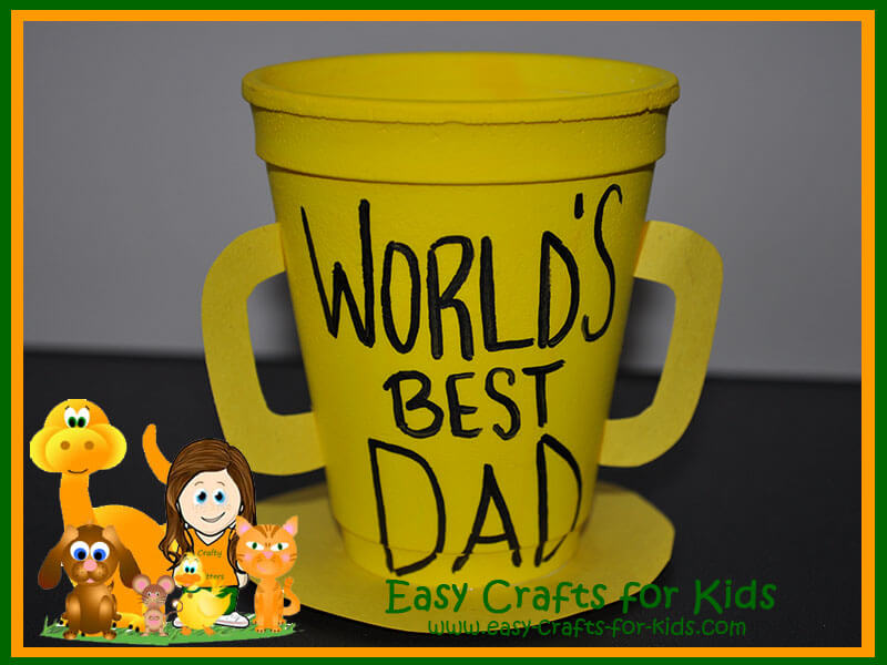 Father Day Craft Ideas For Kids Part - 50: Fathers Day Crafts For Toddlers