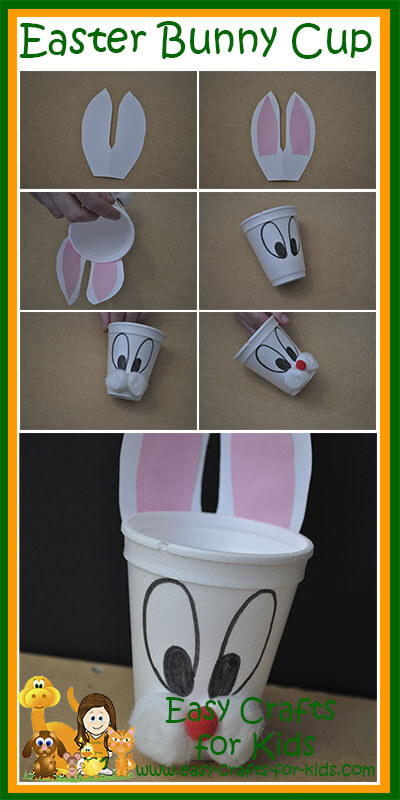 Step by Steps for our Free Easter Crafts for Kids