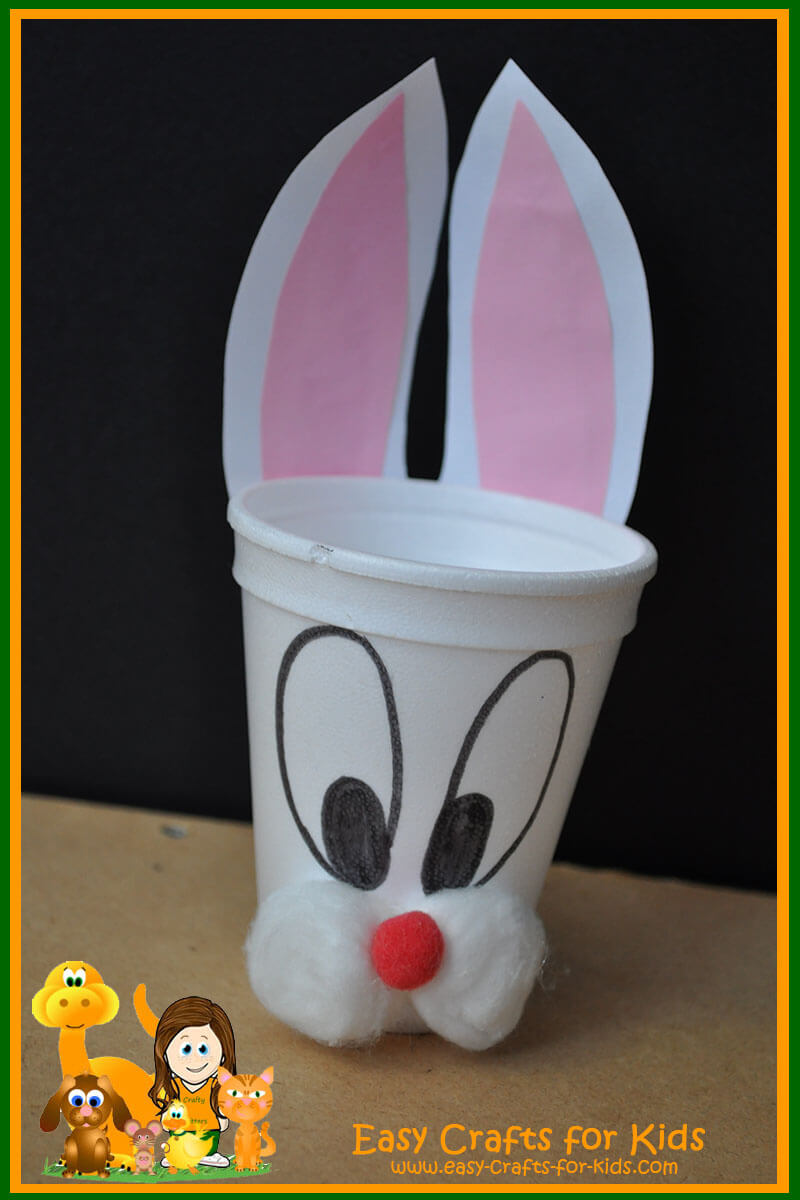 Free Easter Crafts For Kids A Easter Themed Cup To Fill With Treats