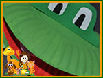Paper Plate Frog Preview
