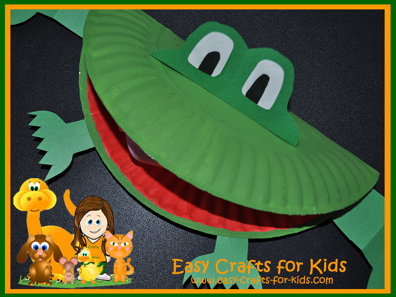 Frog Crafts for Kids  sc 1 st  Easy Crafts for Kids : paper plate frog template - pezcame.com