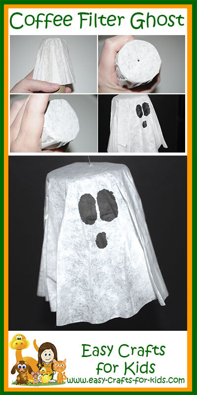 How to: Ghost Crafts for Kids