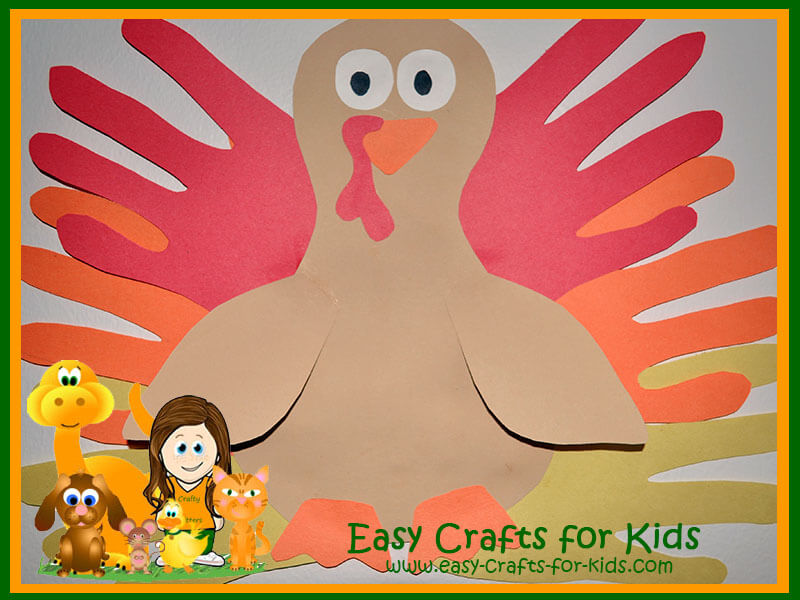 easy thanksgiving craft ideas kids thanksgiving craft use your to make turkeys 6527