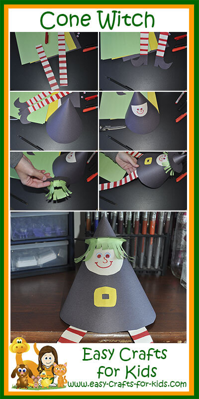 Kindergarten Halloween Crafts Fun Amp Whimsical Witch For