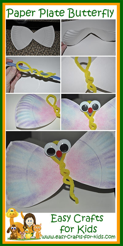 Paper Plate Crafts for Kids Instructions