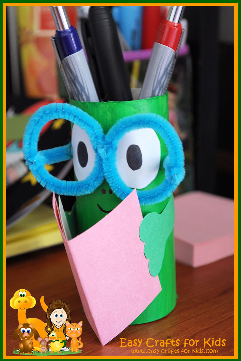 pencil holder crafts for kids get ready for back to school
