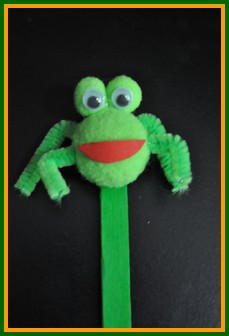 Easy Wood Crafts Popsicle Stick Puppets