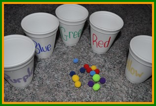 Color and number crafts
