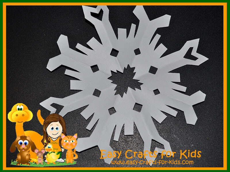 Snowflake Paper Crafts