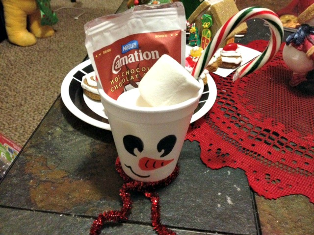 Snowman Soup Craft
