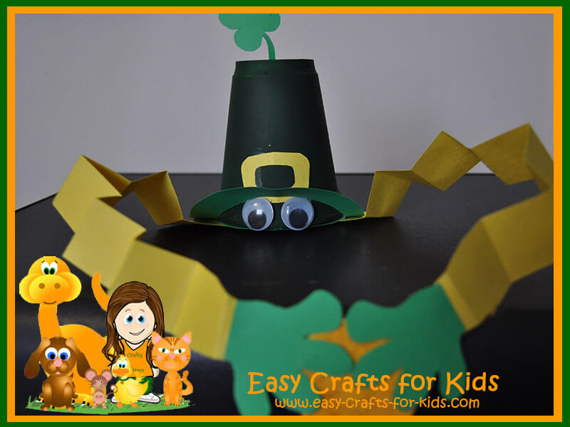 St Patrick Day Luck Cup Craft