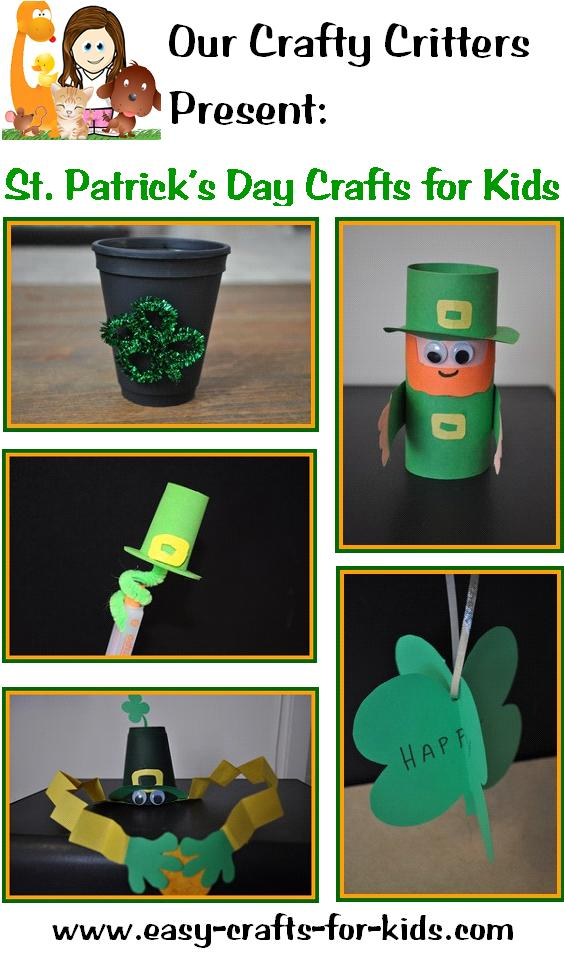 St Patrick Day Kids Crafts Catch Your Very Own Leprechaun