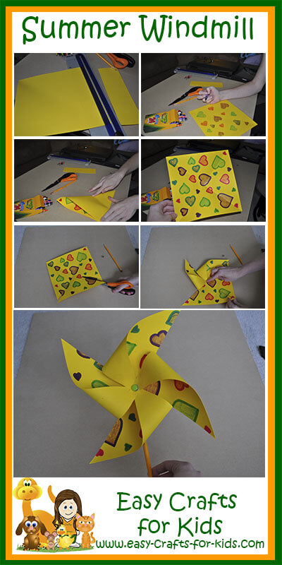 Easy Summer Craft Ideas For Kids Part - 35: Step By Step Instructions For Summer Craft Ideas For Kids