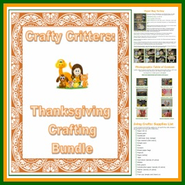 Thanksgiving crafting bundle