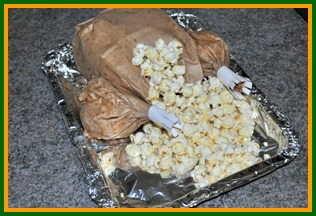 Popcorn Paper Bag Turkey