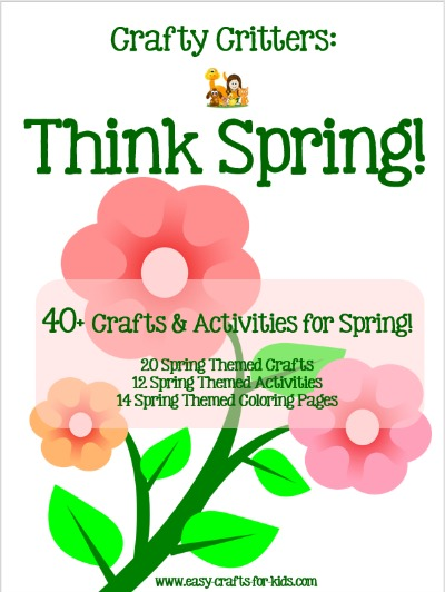 Fun Spring Crafts Learn To Make Your Own Printables