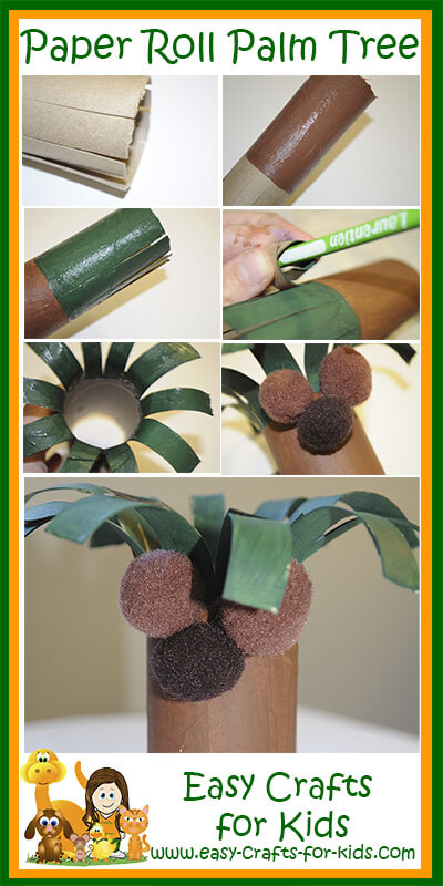 palm tree crafts