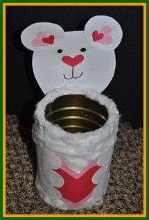 Valentine crafts for kids for Mini tin mailboxes for crafts