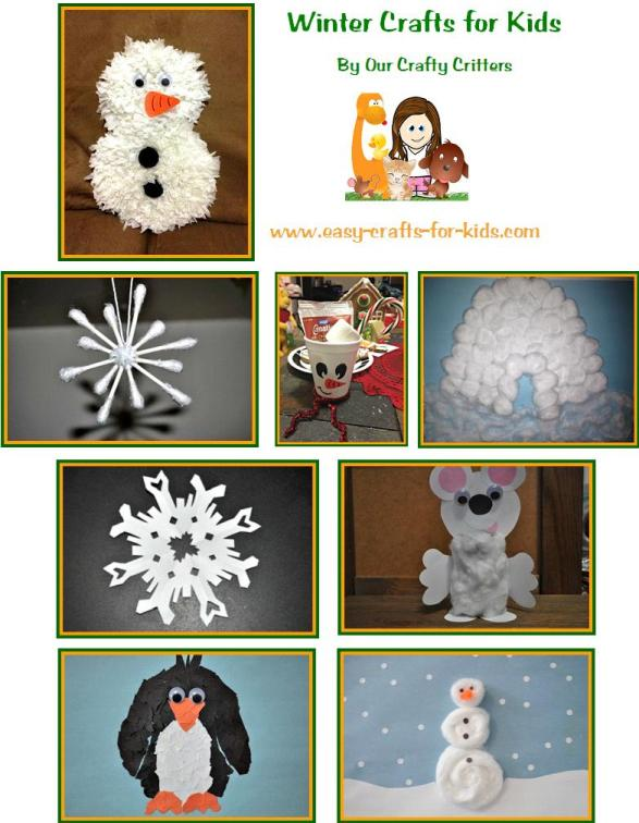 Great Winter Crafts for Kids