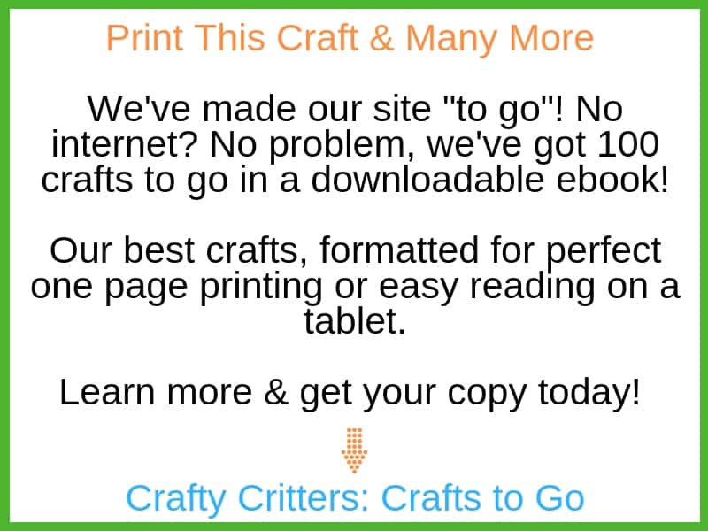 Crafty critters crafts to go ebook