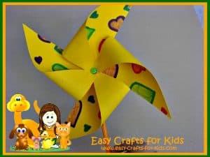Paper windmill
