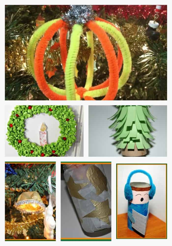 Easy Christmas crafts for kids #kidscrafts #christmascrafts #xmascrafts #kidsactivities #christmas #crafts