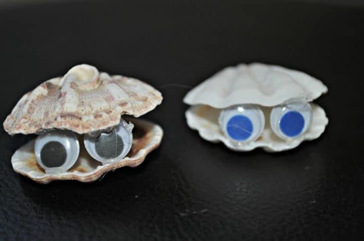 Easy Seashell Craft For Kids