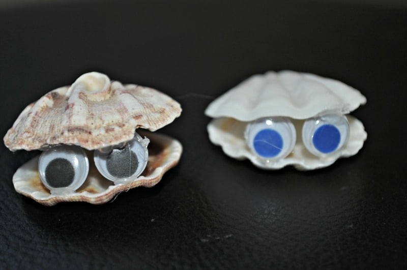 Seashell critter couple