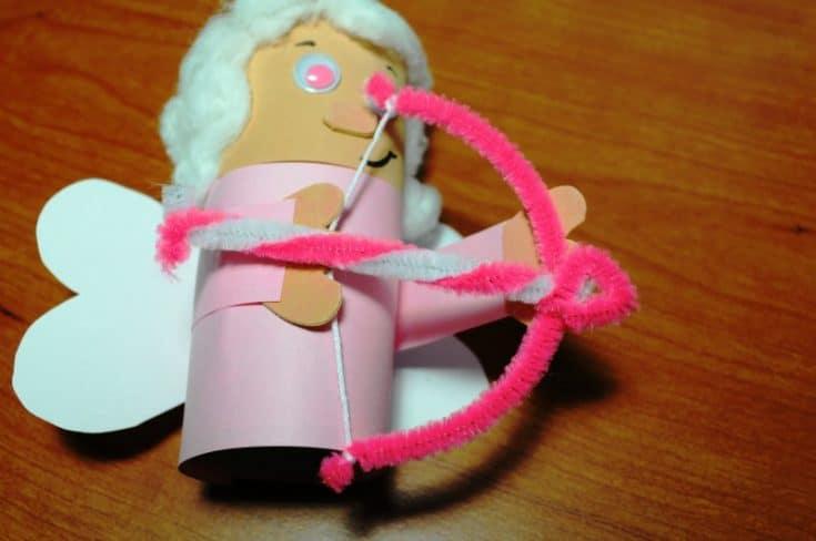 Cute Valentine's Day Cupid Craft
