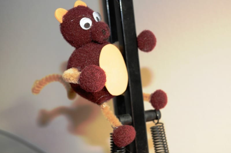 easy monkey craft for kids