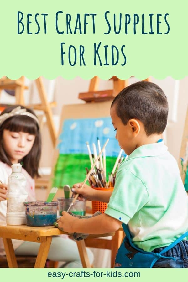 Always be prepared to give your child the opportunity to have fun crafting! Make sure keep a stash of these craft supplies for kids at all times. #craftsforkids #kidscrafts #craftsupplies #crafting #kidsactivities #easycraftsforkdis