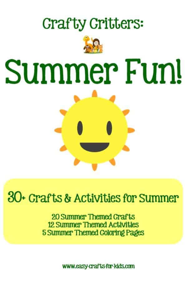 Keep your kids busy with these summer activities for kids. this special bundle includes summer themed crafts, activities and coloring pages: something for everyone! #summerkidsactivities #kidssummeractivities #funsummeractivities #summercrafts #craftsforkids #kidscrafts #coloringpages #summeractivities