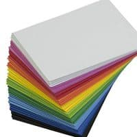EVA Foam Handicraft Sheets (80 Pack - 8.25 x 6 inches) Assorted Colorful Crafting Sponge for DIY Projects, Classroom, Parties and More by My Toy House | Thick and Soft Paper, 10 Colors 8 Pieces Each