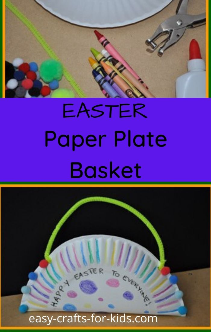 Easter Paper Plate Craft