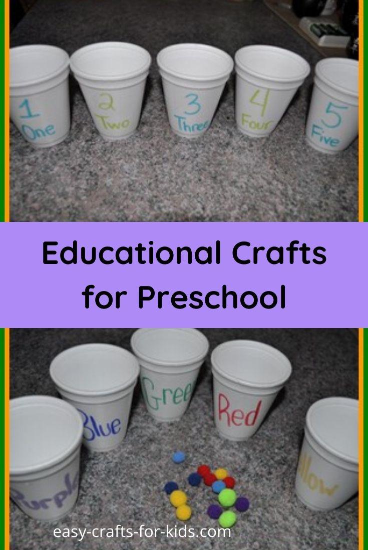 Educational Crafts for Preschoolers