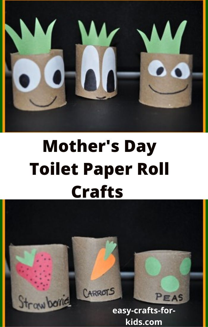 Mother's Day Toilet Paper Roll Crafts