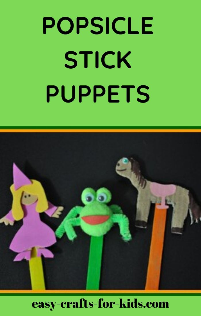 PUPPET POPSICLE CRAFTS FOR KIDS